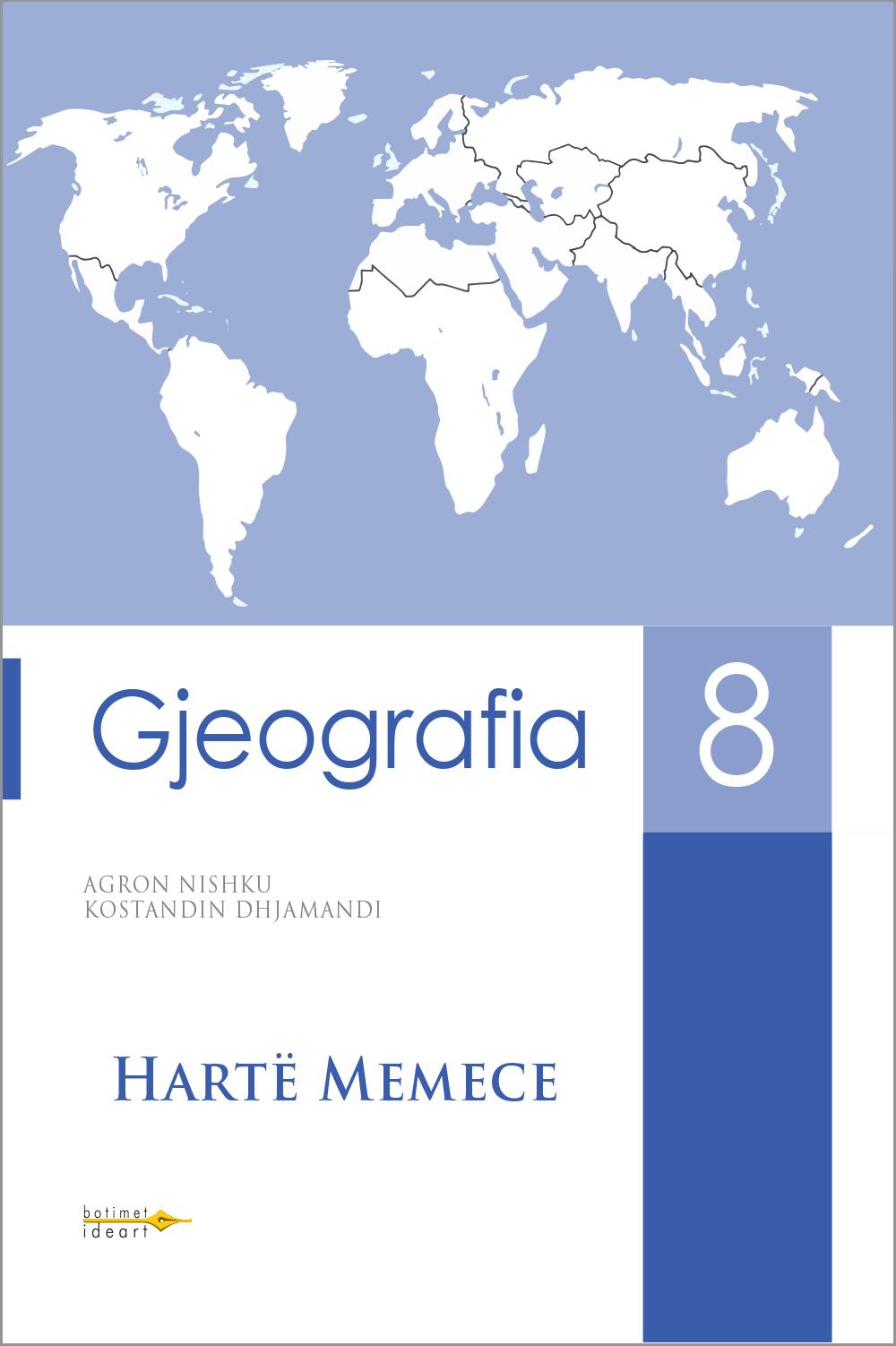 Hartë Memece Gjeografia 8