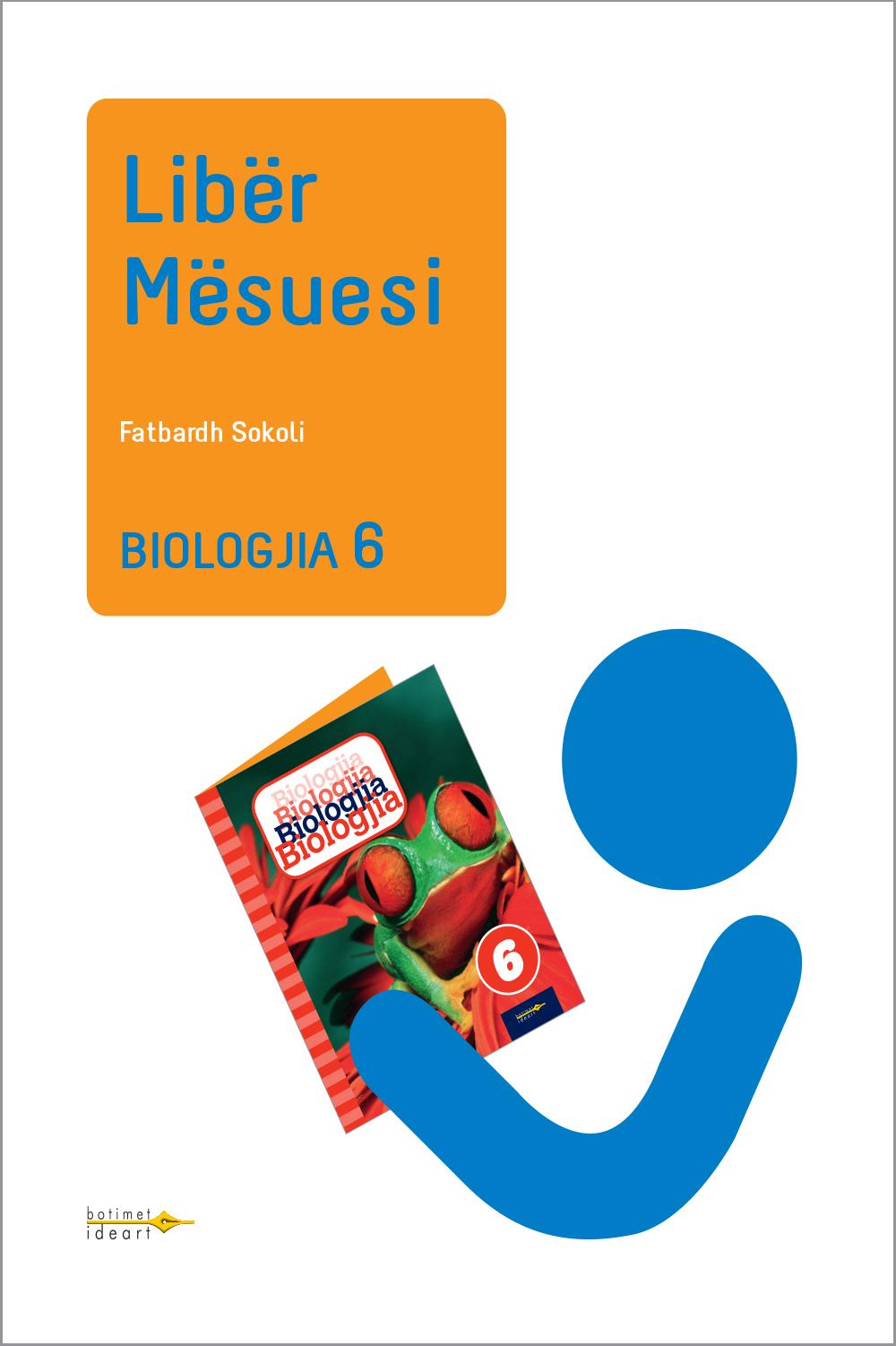 Biologjia 6<br>Libër Mësuesi