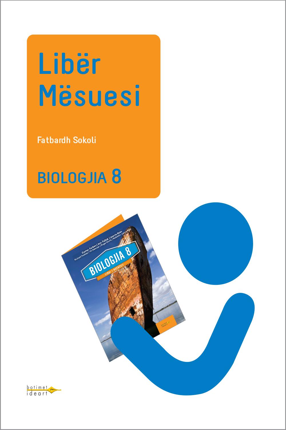 Biologjia 8<br>Libër Mësuesi