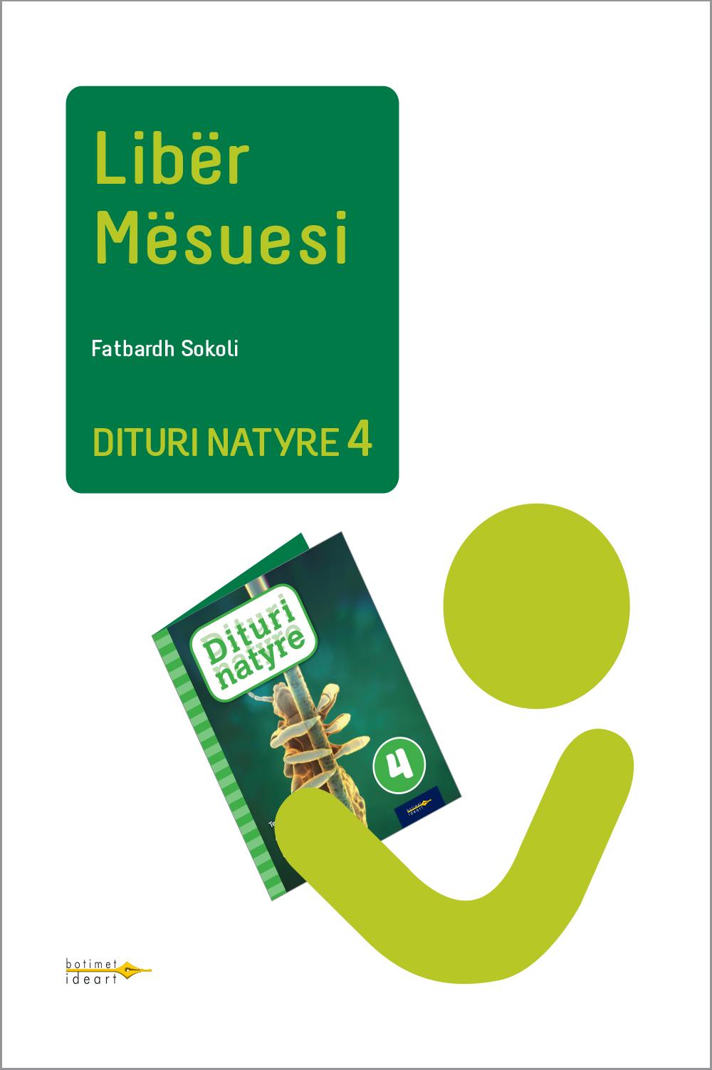 Dituri Natyre 4<br>Libër Mësuesi