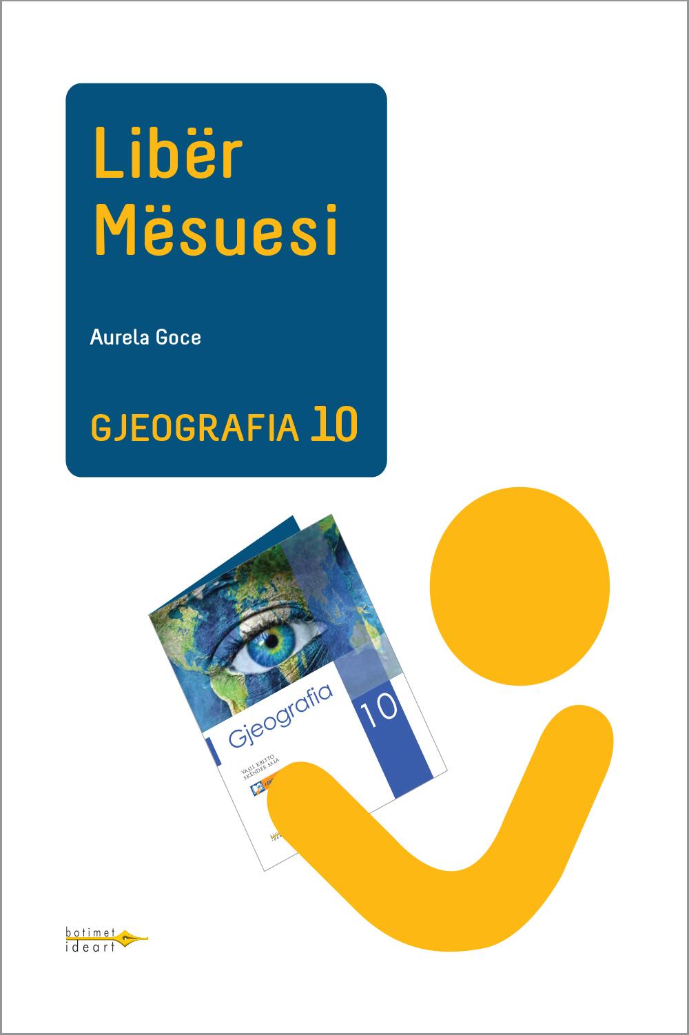 Gjeografia 10<br>Libër Mësuesi