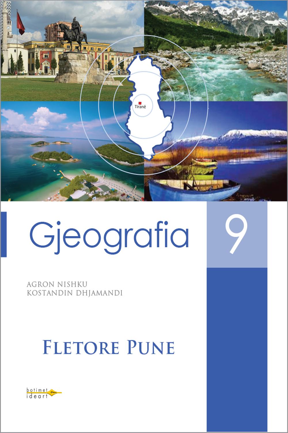 Fletore pune<br>Gjeografia 9
