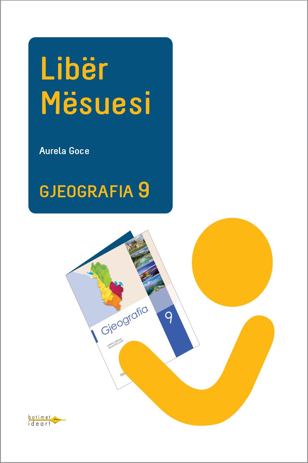 Gjeografia 9<br>Libër Mësuesi
