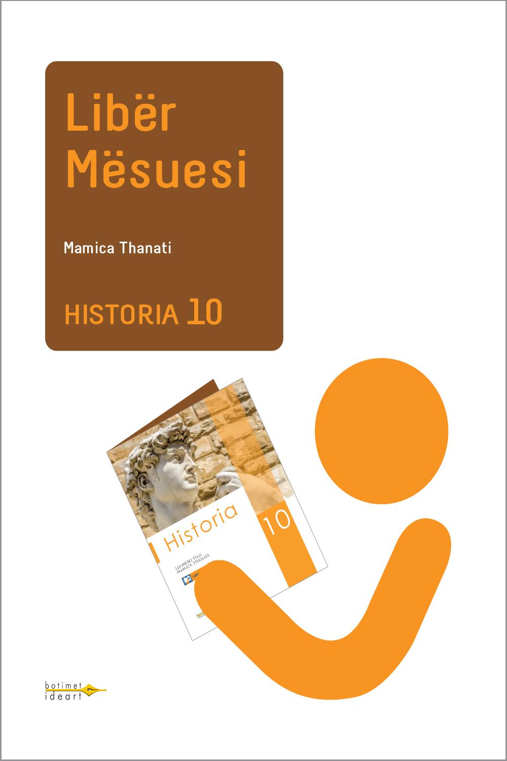 Historia 10<br>Libër Mësuesi