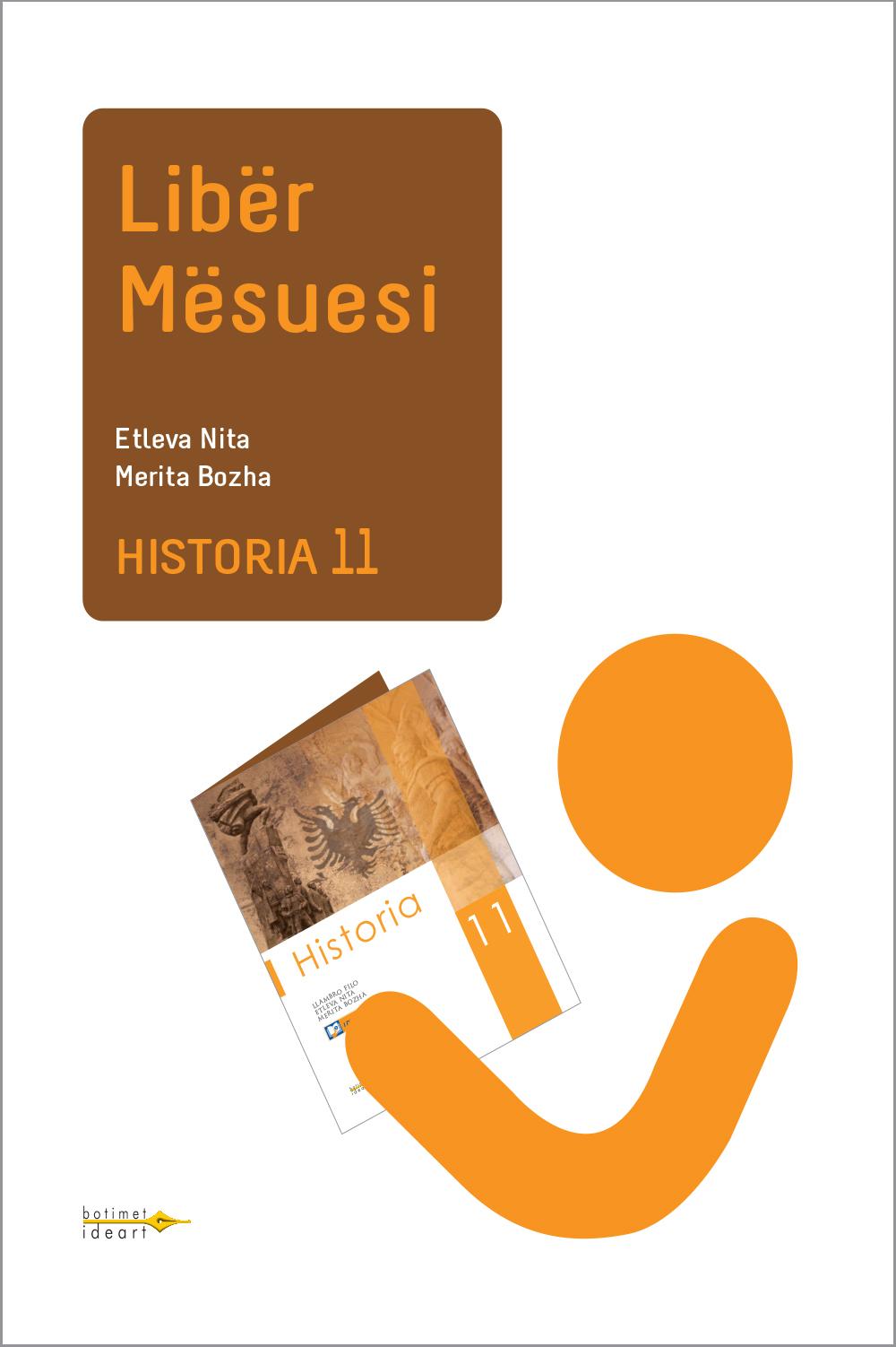 Historia 11<br>Libër Mësuesi