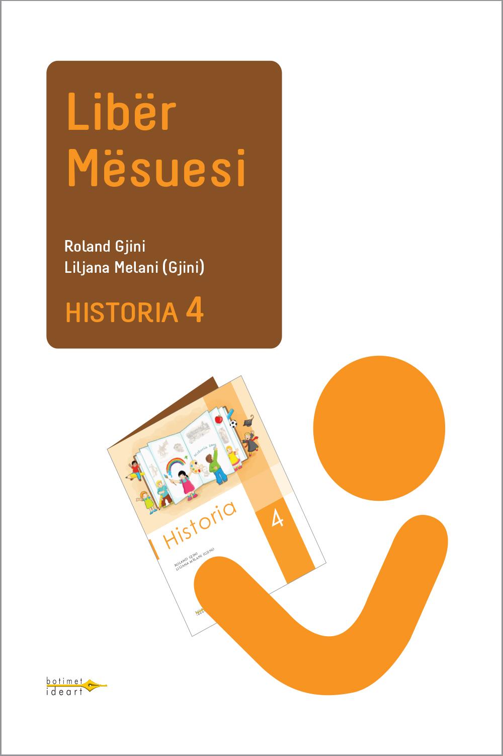 Historia 4<br>Libër Mësuesi