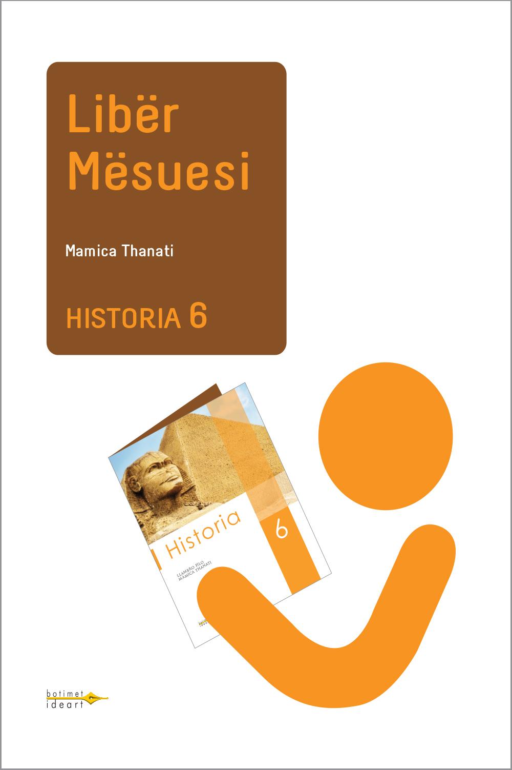 Historia 6<br>Libër Mësuesi