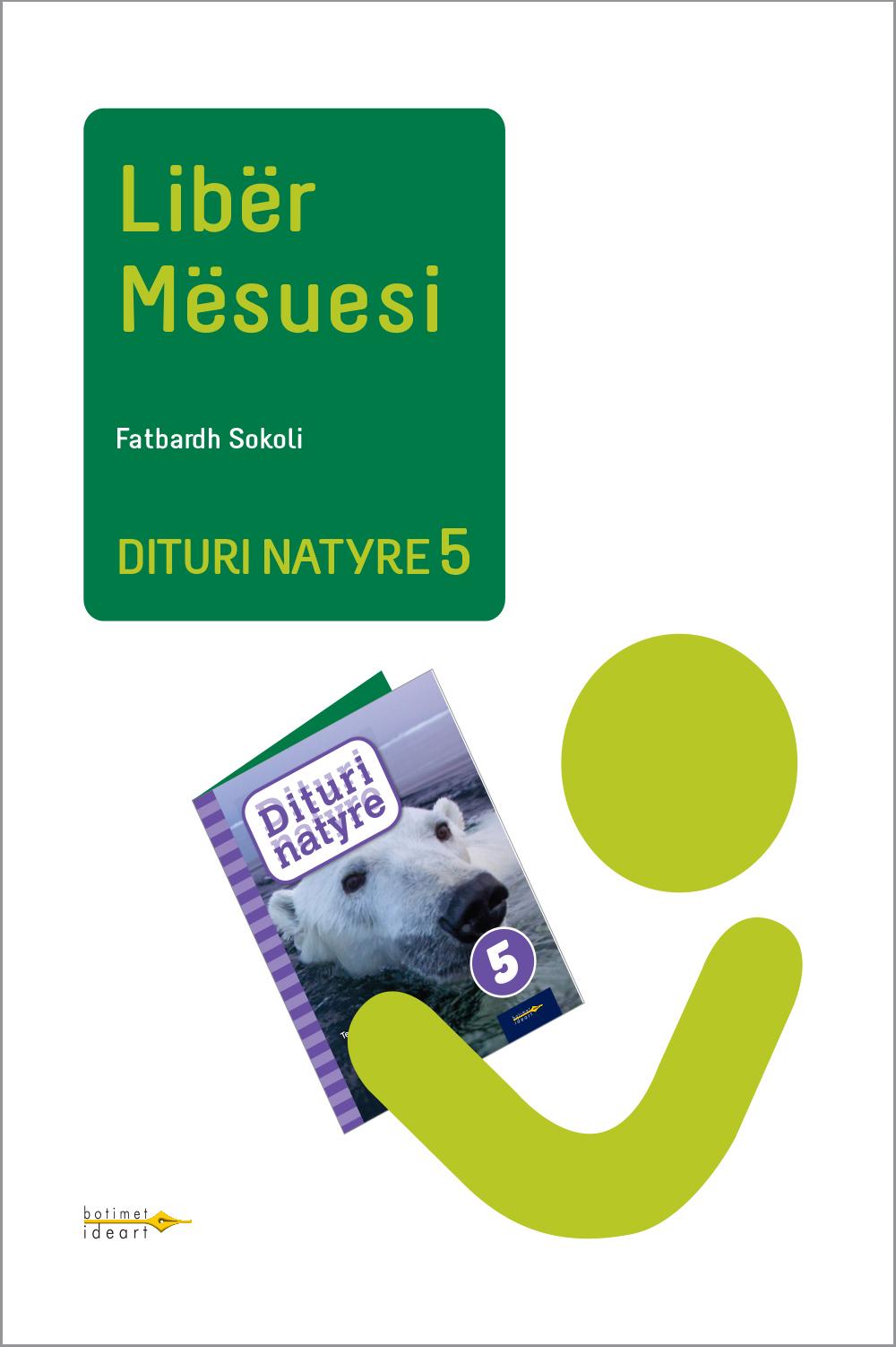 Dituri Natyre 5<br>Libër Mësuesi