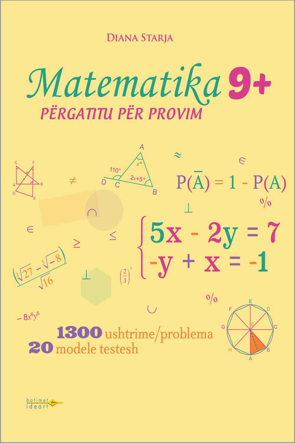 Fletore Pune<br>Matematika 9+